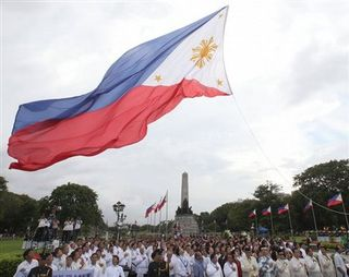 Giant-philippine-flag