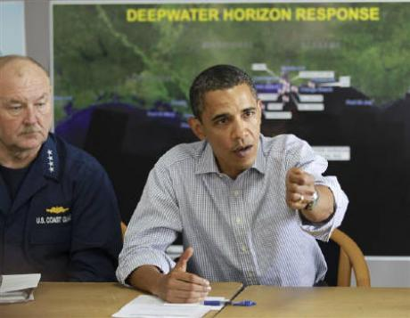 Obama briefing oil spill