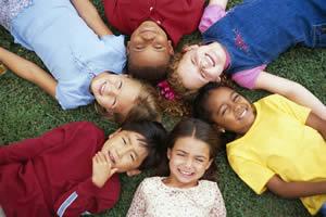Kids multiracial