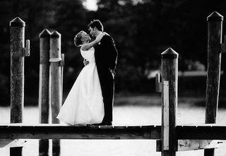 Wedding - boardwalk