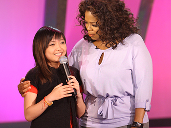 Charice with oprah