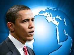 Obama globe