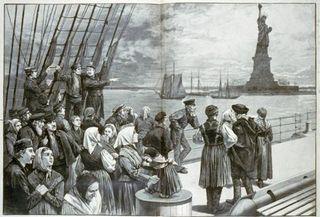 Immigrants liberty