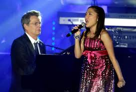 Charice with david foster