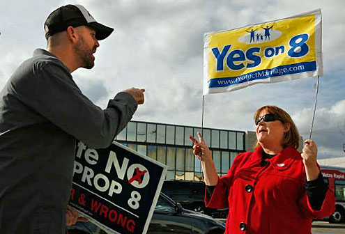 Yes vs No on Prop 8