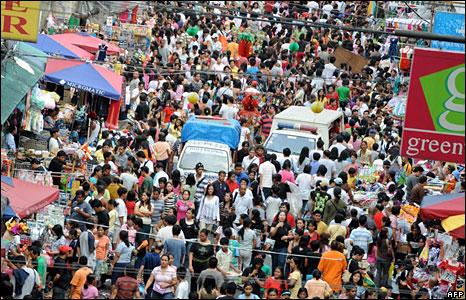 Manila xmas traffic
