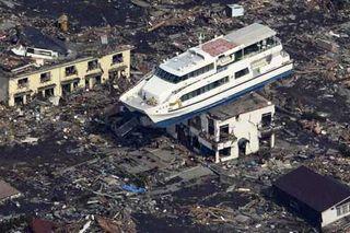 Japan tsunami ship