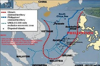 Spratly Islands ONLY FOR  the Philippines by UNCLOS-794787