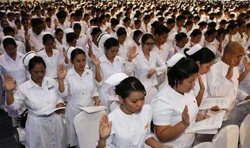 Pinay nurses