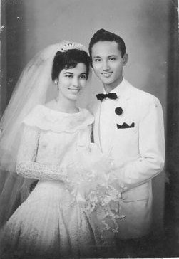 Dad and mom 1961