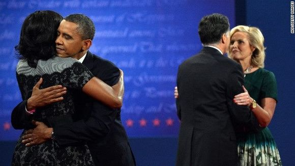 Photo Blog: Obama and Romney as Husbands