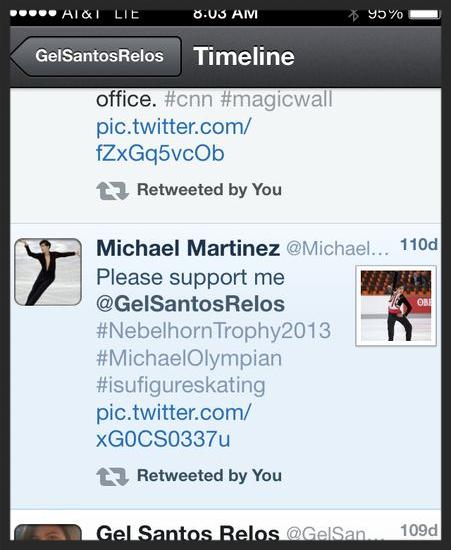 Michael tweets